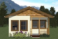 Americano Style Cottages > 100 m2