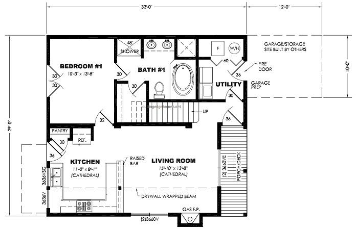Cruz city 3br 2ba 1332 sq ft cutting edge export for 3br 2ba floor plans